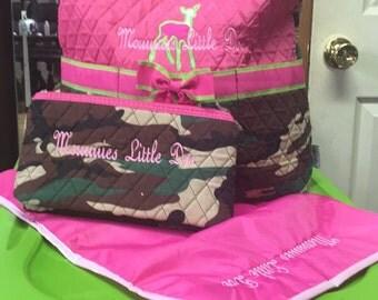 Mommies little doe daiper bag