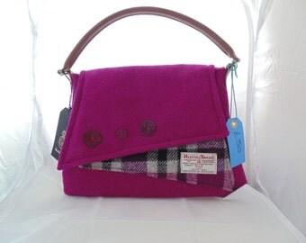 Handmade Harris Tweed Handbag