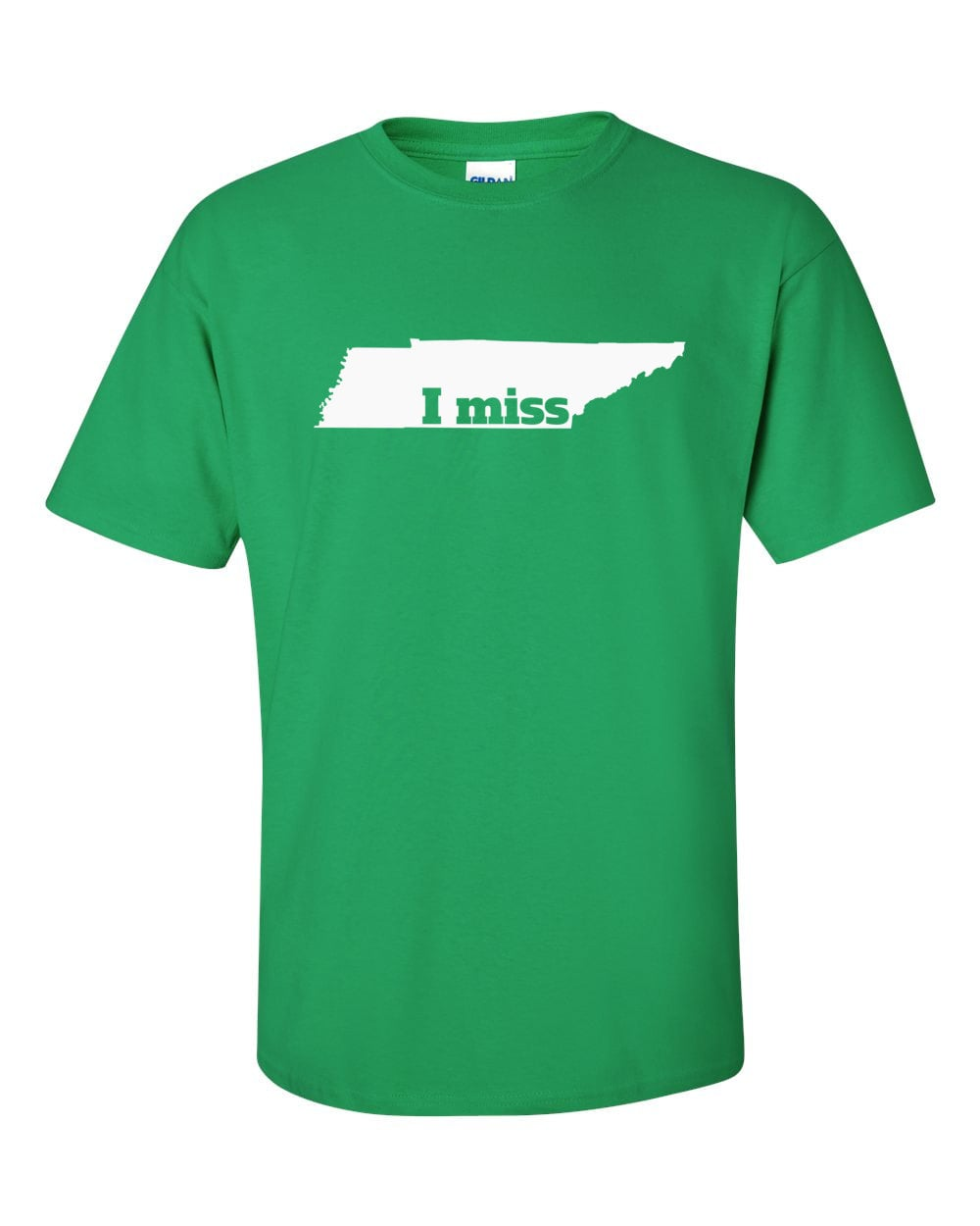 Tennessee T-shirt - I Miss Tennessee - My State Tennessee T-shirt