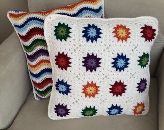 2 Bright and Cheery Pillows