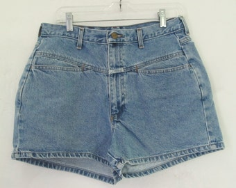 Women's Vintage 90's,Short Blue HIP HOP era Shorts By GIRBAUD.11/12