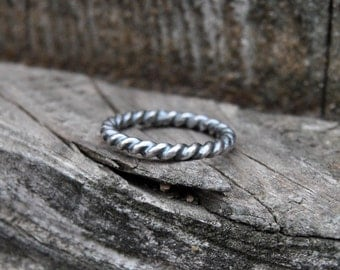Silver Stacking Ring, Stackable Ring