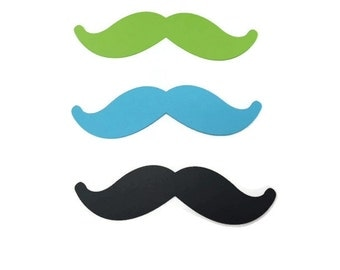 25 Mustache Tags, Die Cut Mustache, Lil Man Baby Shower, Little Man Birthday Party, Mister Birthday, Mister, DIY, Little Man, Little Mister