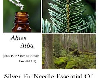 Silver Fir Needle Essential oil, Fir Needle Essential oil, Fir Essential Oil, Abies alb oil – 100% Pure Authentic Silver Fir Needle EO