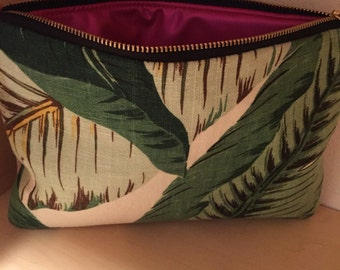 Studded Banana Leaf Clutch