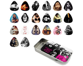 Pink Floyd Guitar Pick Gift Tin - Set of 20