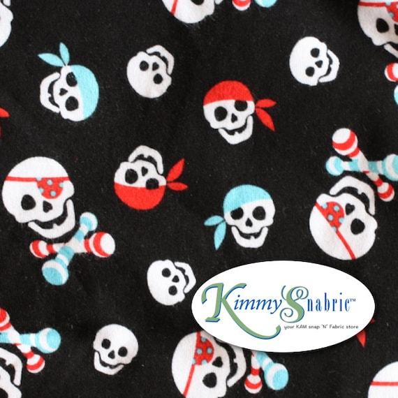 Pirate Knit Fabric Pirate Fabric Pirate Fabric for Kids