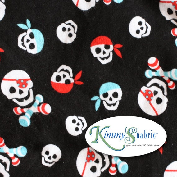 Pirate knit fabric pirate fabric pirate fabric for kids for Kids pirate fabric