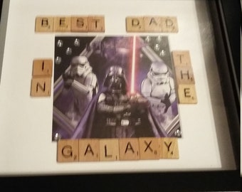star wars theme fathers day gift