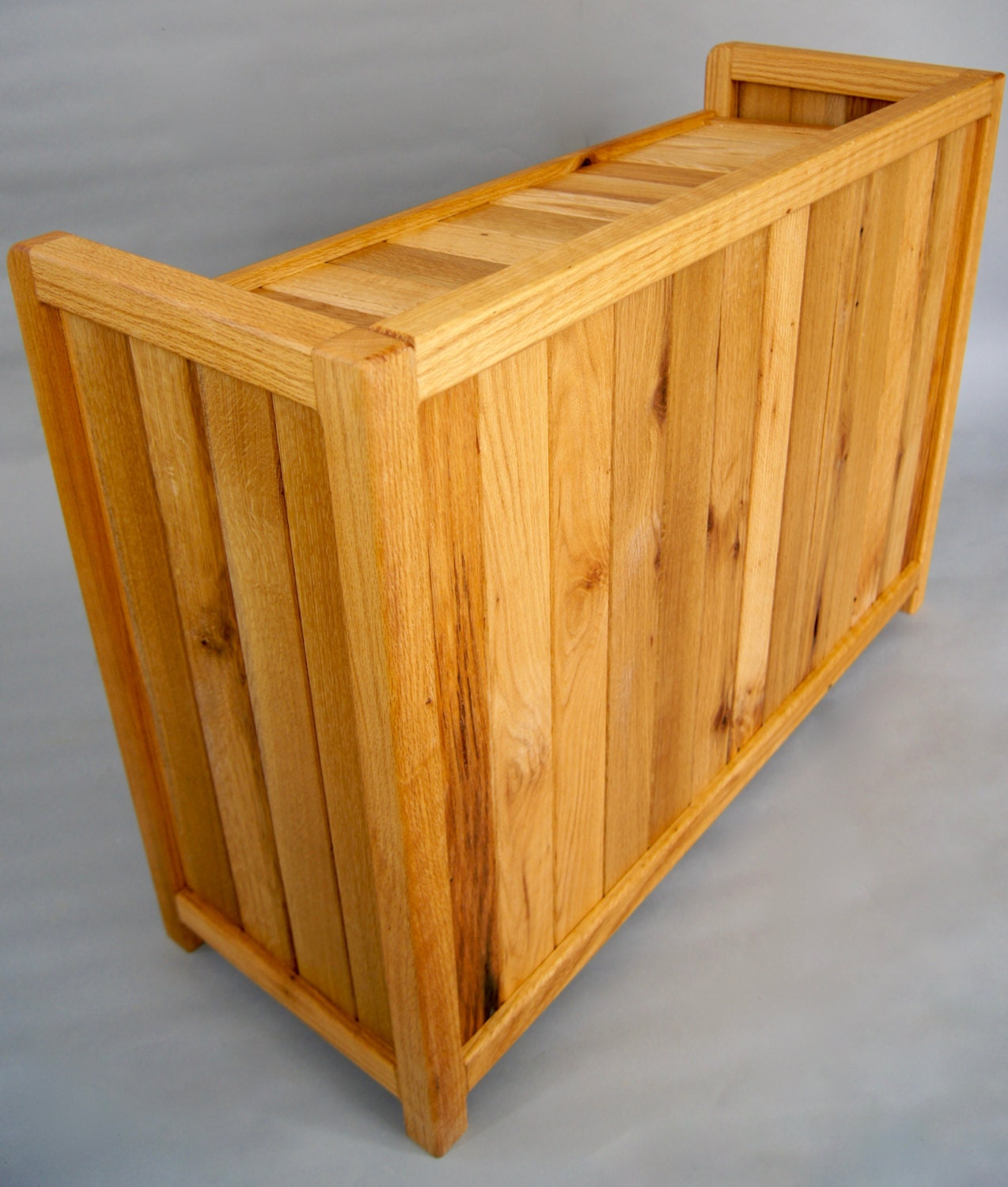 Solid Wood Shoe Rack made with Reclaimed