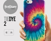 Tie Dye Phone case iPhone 7 6s Plus 6 SE 5S 5C Samsung Galaxy S7 S6 S5 S4 colorful abstract unique rainbow cell phone case