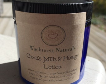 All Natural Goats Milk & Honey Lotion