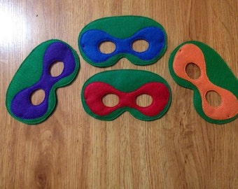 Teenage Mutant Ninja Turtle Mask Set
