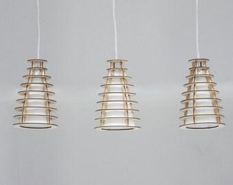 Nuage No. 5 Holzlampe - contura Hängelampe
