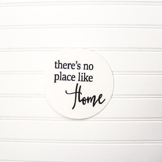 Theres no PLACE LIKE HOME sign farmhouse style by MrsODesignCo