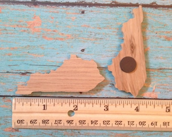Kentucky magnet made from bourbon barrel lids--price includes shipping
