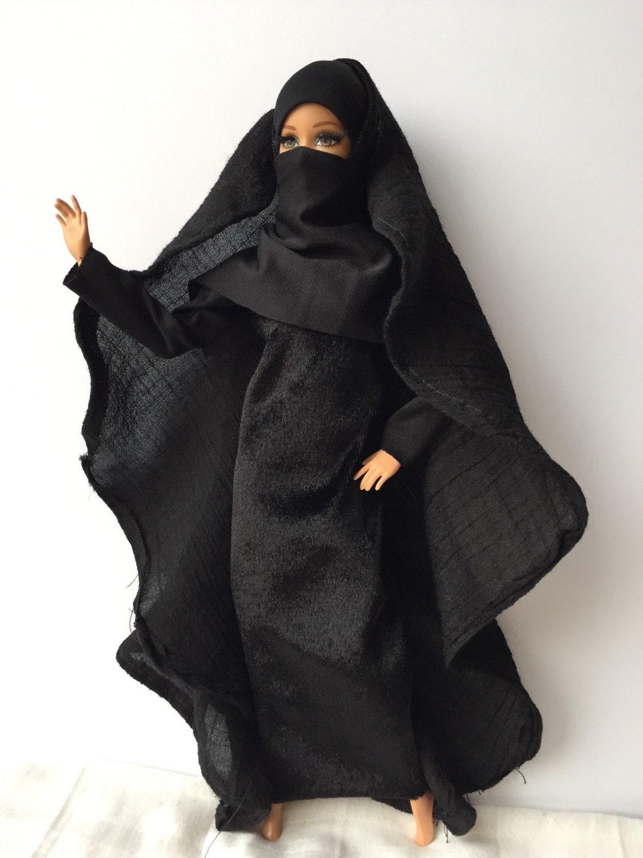 Niqab Hijab Muslim Islamic Barbie Doll outfit