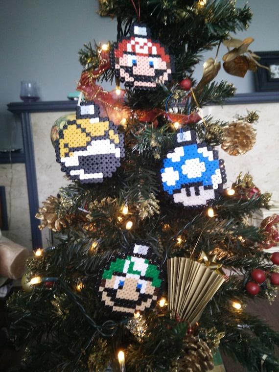 Super mario christmas decorations mario luigi by for Mario decorations