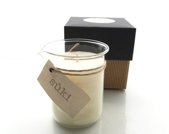 250mL Soy Beaker Candle, Hand Poured