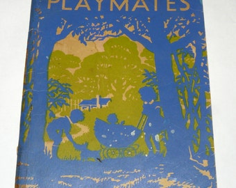 Playmates, The Victorian Readers First Book, 1st Ed 1952