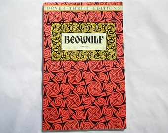 Beowulf Unabridged Vintage Paperback 1992 Dover Thrift Edition