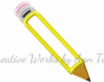 Yellow Pencil Applique