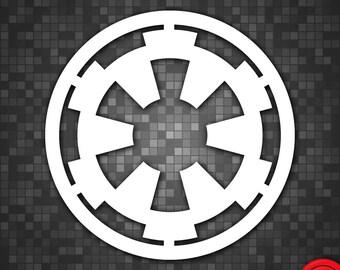 Galactic Empire Star Wars Vinyl Decal
