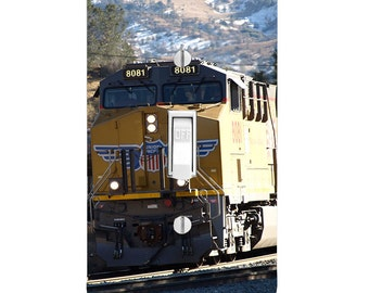 Light Switch Cover - Union Pacific Train Railroad Tracks Printed single dual rocker outlet covers