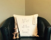 Harry Potter Inspired After All This Time? Always Embroidered Doubled sided Cushion Cover & Pad Harry Potter Cushion Severus Snape Cushion