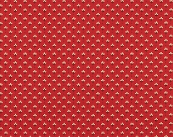 1 YD - Petite Prints (rouge) by French General from MODA Fabrics