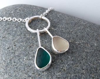 Sea Glass Necklace | Genuine Sea Glass Jewellery | Sea Glass Jewelry | Seaglass Jewellery | Seaglass Necklace