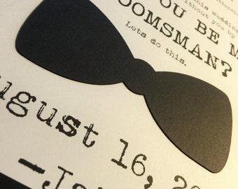 Groomsman or Best Man // Wedding Party Invite