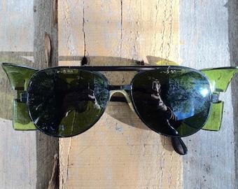 Vintage Climbing/Safety Aviator Sunglasses