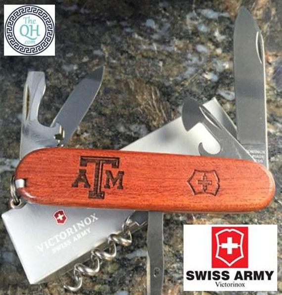 Texas A Amp M Branded Victorinox Swiss Army Knife Pocket Knife