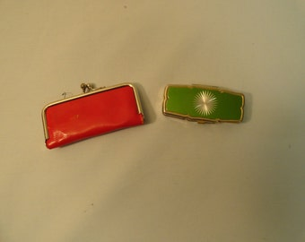 Portable Sewing Kit and Vintage Pill Box