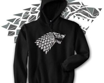 Stark Sigil - Game of Thrones Hoody - Cwtkw