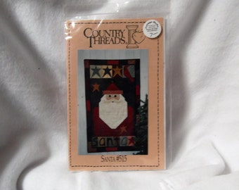 Santa Wallhanging