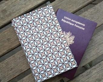 protects Passport geometric patterns, cover Passport Japan