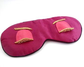 Breakfast at Tiffany's  Audrey Hepburn sleep Eye mask  ,Holly Golightly sleep eye mask ,Sleep mask