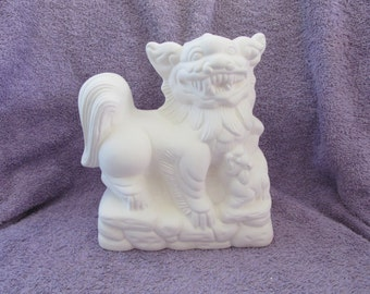 Oriental Dragon - Bisque (Ready to Paint)