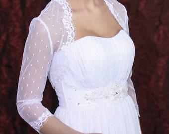 wedding shrug,bridal bolero,white shrug,bolero jacket,shrug for bride,lace shrug,long sleeve bolero,bridal bolero white,bridal cover up
