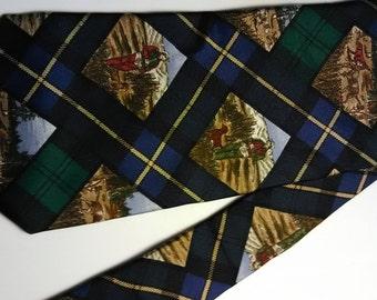 148.  Roundtree silk necktie