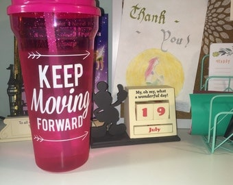 Large Keep Moving Forward Vinyl Decal