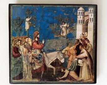 Entry into Jerusalem - Giotto di Bondone