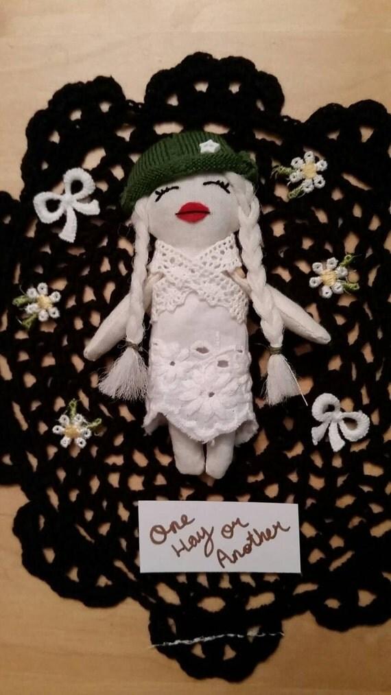 Emma mini art doll