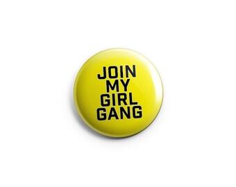 "Lesbian pin, lesbian badge, lesbian button,  1.25"" pinback button, pin, badge, LGBT pride, queer pride badge, women's symbol"