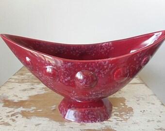 Vintage Shorter & Son Ltd 1950's Arc Shaped Vase