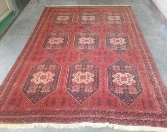 Semi Antique Persian Kashan rug