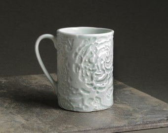 Porcelain Celadon Glazed Mug