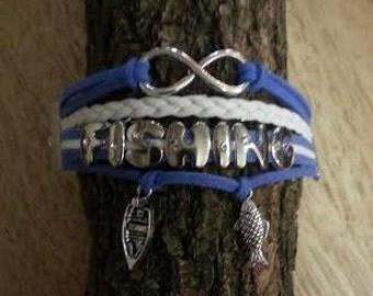 Fishing Charm Bracelet